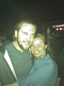 Daley & me @ Googamooga in Brooklyn