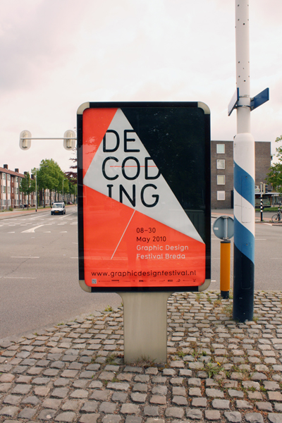 Graphic Design Festival, Breda poster by Rob Van Hoesel