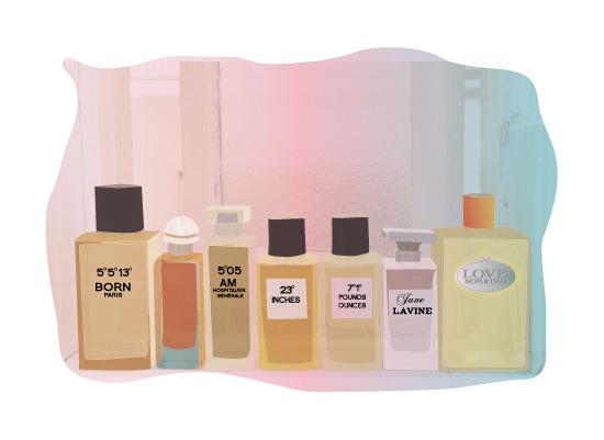 Parisian Perfume Art Print