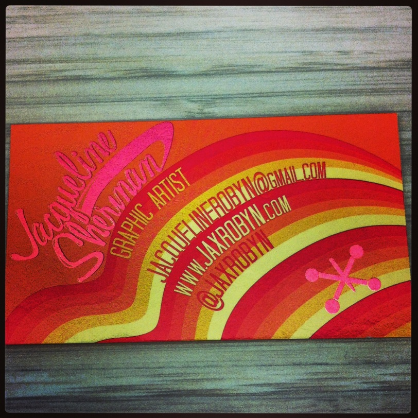 JaxRobyn Business Cards