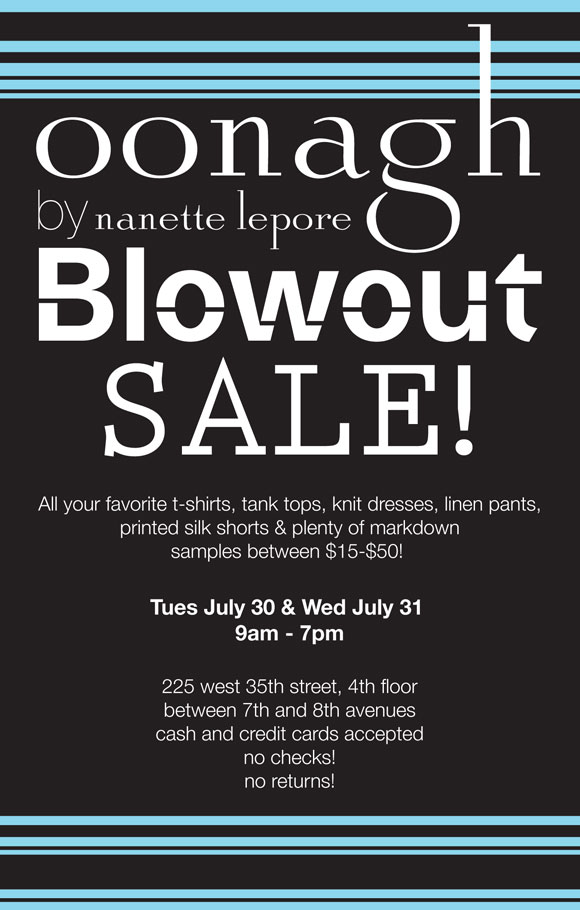 The Oonagh by Nanette Lepore Sample Sale