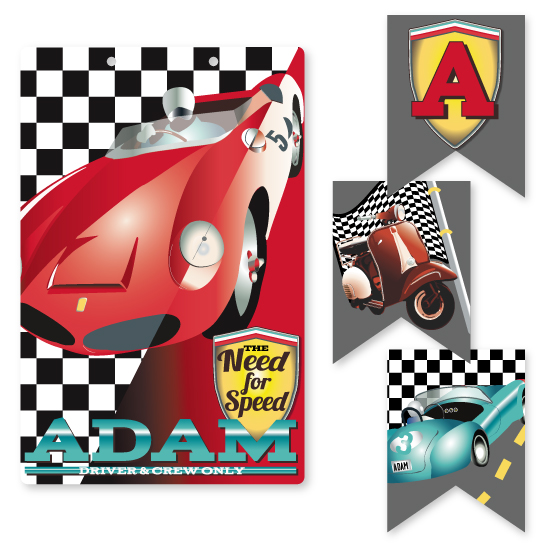room decor - need for speed