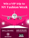 Win a VIP Trip To NY Fashion Week