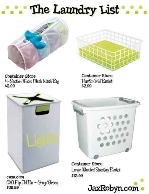 laundry list by JaxRobyn
