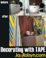 Decorating with Tape