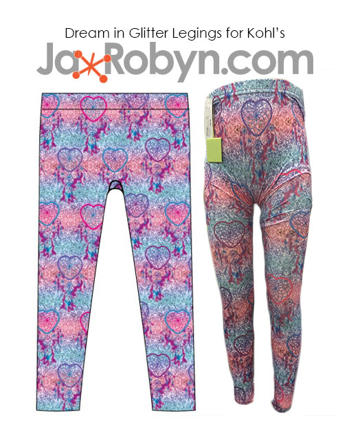 Dream in Glitter Leggins for Kohls copy