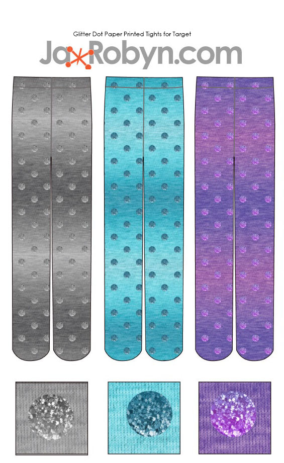 Glitter Dots Tights for Target
