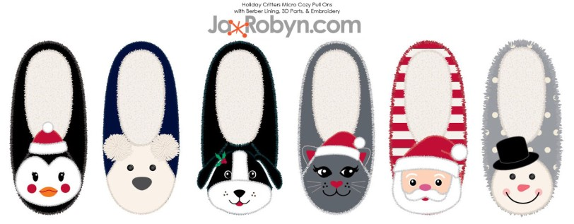 Holiday Critter Slippers copy