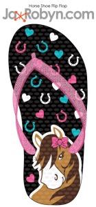 Horse Shoe Flip Flop copy