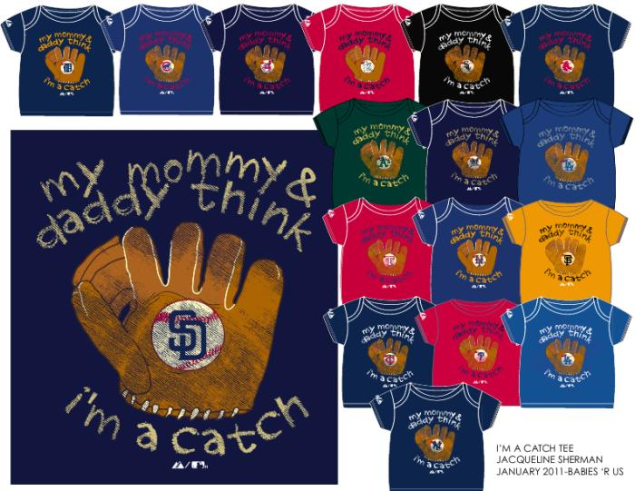 I'm A Catch MLB Merchandise