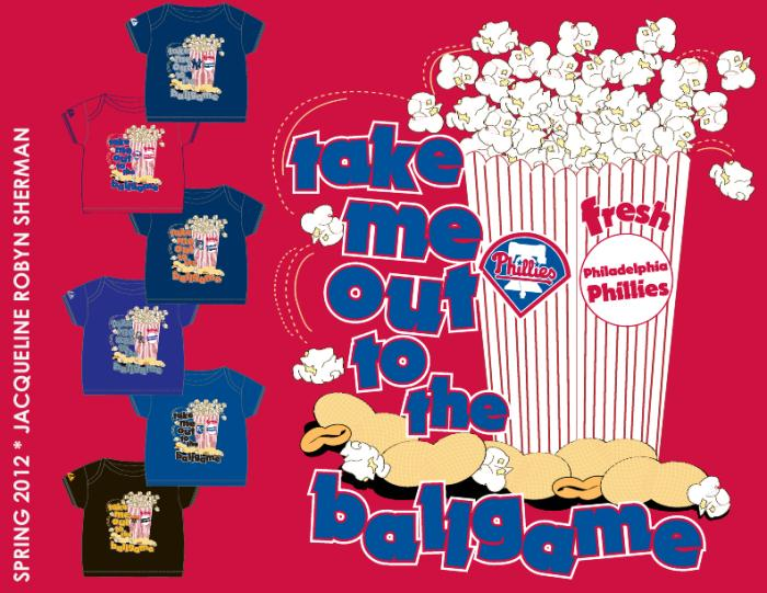 Take Me Out to the Ballgame MLB Merchandise