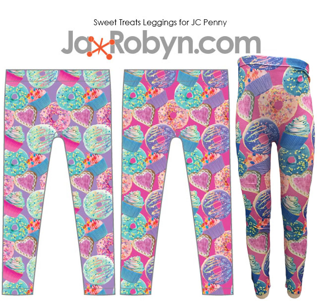 Sweet Treats Leggings JC Penny